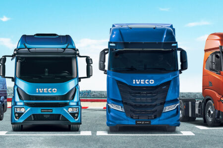 Officina camion IVECO